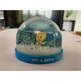 Boule de neige Looney Tunes Tweety en Grèce Édition Atlas-