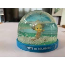 Boule de neige Looney Tunes Tweety en Islande Atlas Edition-