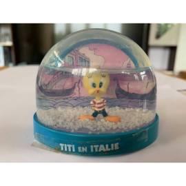 Boule de neige Looney Tunes Tweety dans Italia Atlas Edition-
