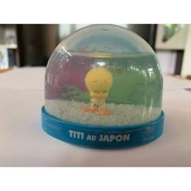 Boule de neige Looney Tunes Tweety au Japon Édition Atlas-