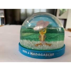 Boule de neige Looney Tunes Tweety dans Madagascar Atlas Edition-