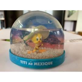 Boule de neige Looney Tunes Tweety au Mexique Édition Atlas-