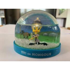Boule de neige Looney Tunes Tweety en Mongolie Atlas Edition-