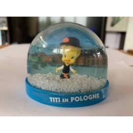 Boule de neige Looney Tunes Tweety en Pologne Édition Atlas-