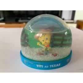 Boule de neige Looney Tunes Tweety dans Texas Atlas Edition-