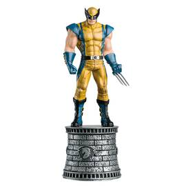 Marvel Chess Eaglemoss 03 WOLVERINE (WHITE KNIGHT)-