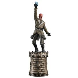 Marvel Chess Eaglemoss 07 RED SKULL (BLACK KING)-