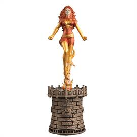 Marvel Chess Eaglemoss 54 Dark Phoenix (Black Queen)-