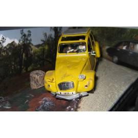 Voiture James Bond 05  CITROÊN 2CV  Eaglemoss Collection Cars-