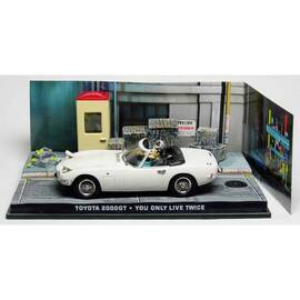 Voiture James Bond 08: TOYOTA 2000 GT  Eaglemoss Collection Cars-