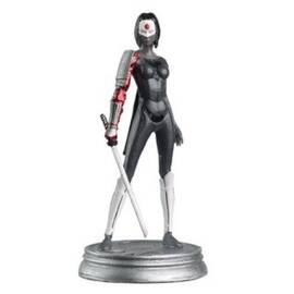 DC Chess Eaglemoss 12 Katana Black pawn-