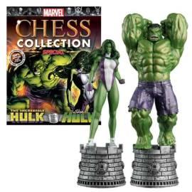 Marvel Chess Eaglemoss SPECIAL Hulk and she-hulk-