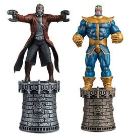 Marvel Chess Eaglemoss SPECIAL Star Lord & Thanos (Kings)-
