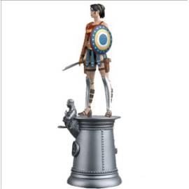 DC Chess Eaglemoss 88 Wonder Woman Chess Piece (White Queen)-