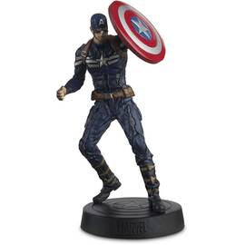 Eaglemoss Marvel Movies 017 Captain America Figurine (The Winter Soldier)-