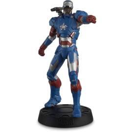 Eaglemoss Marvel Movies 023 Iron Patriot Figurine (Iron Man 3)-