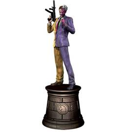 DC Chess Eaglemoss 06 Two-face black knight-
