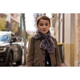 Mario-tartan wool hunting coat-