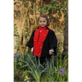 Maurice-Blue Cape Tyrolean military-inspired-