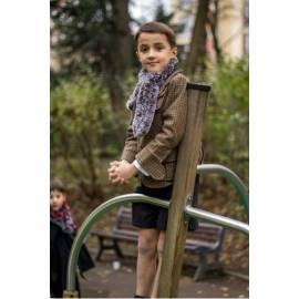 Simeon-Grey wool shorts-