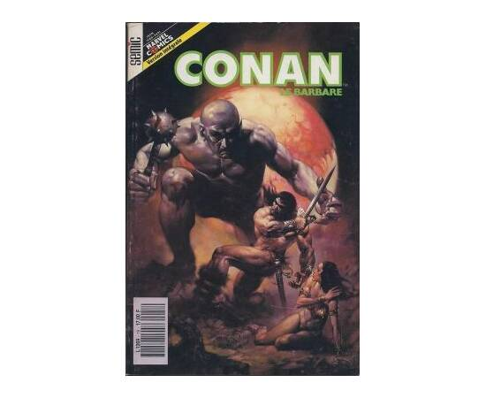 Conan le barbare 18 -  Editions Lug - Semic-