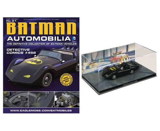 Batman Automobilia Eaglemoss 21 Detective comics 456-