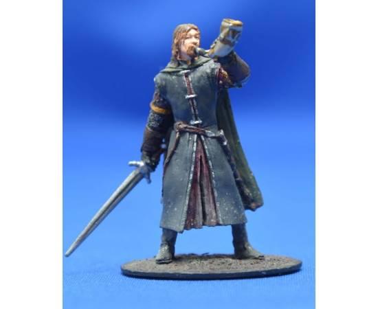 Lord of the rings Eaglemoss 007  Boromir at Amon Hen-