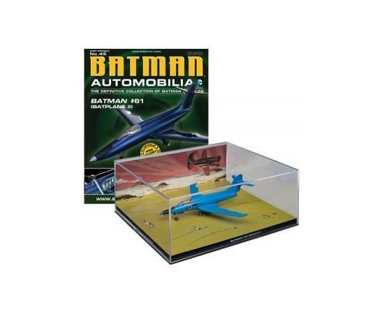 Batman Automobilia Eaglemoss 45 BATMAN #61 (BATPLANE II)-