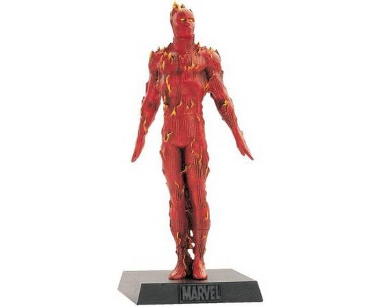 Eaglemoss Marvel Comics 018 The human Torch - La torche humaine-