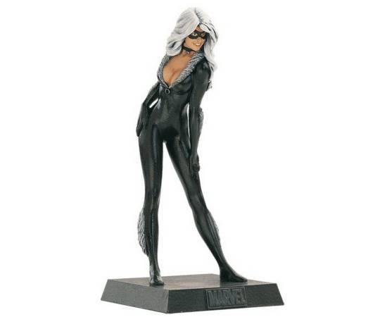 Eaglemoss Marvel Comics 020 Black cat - La chatte-