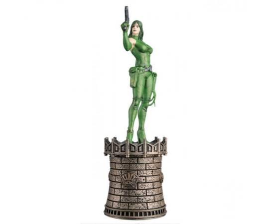 Marvel Chess Eaglemoss 22 Viper (Black Queen)-