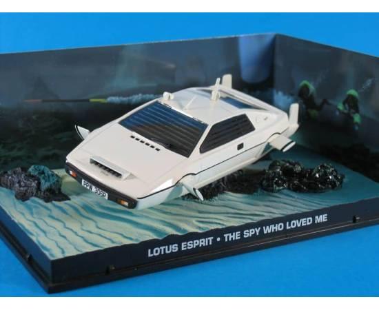James Bond 03 Voitures de la collection Lotus Esprit Eaglemoss-