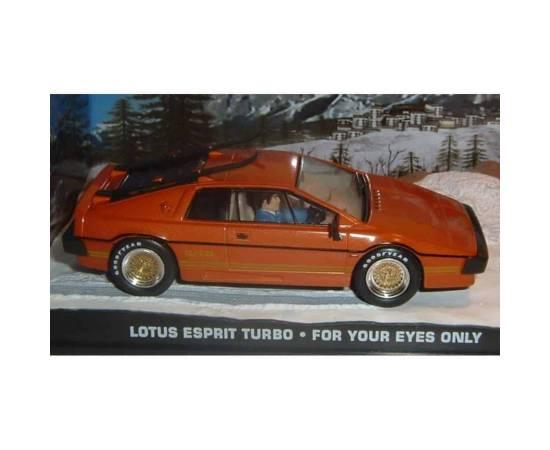 James Bond 09: LOTUS ESPRIT TURBO  Eaglemoss Collection Cars-