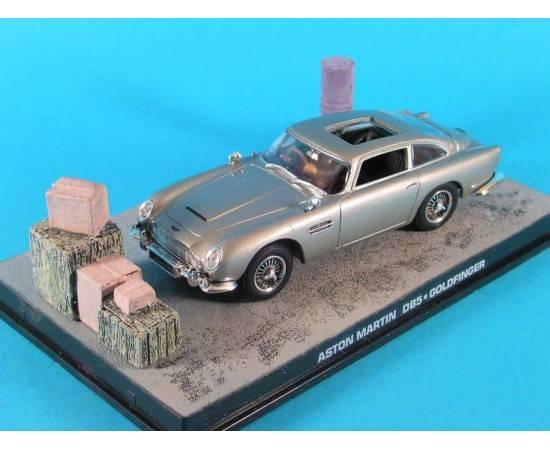 James Bond 12: Voitures de collection ASTON MARTIN DB5 Eaglemoss (GOLDFINGER)-
