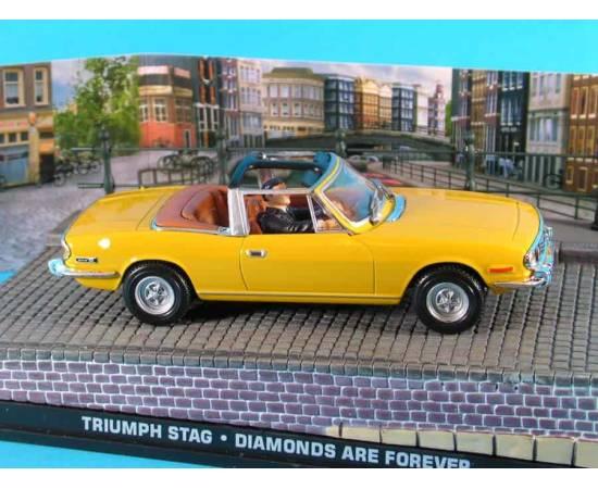 James Bond 19: TRIUMPH STAG  Eaglemoss Collection Cars-
