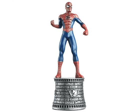Marvel Chess Eaglemoss 01 SPIDER-MAN (WHITE KNIGHT)-