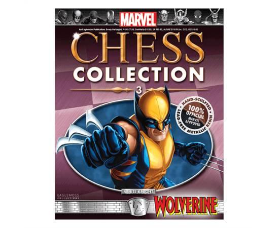 Marvel Chess Eaglemoss 03 WOLVERINE (WHITE KNIGHT)-
