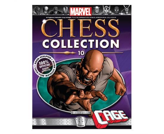 Marvel Chess Eaglemoss 10 CAGE (WHITE PAWN)-