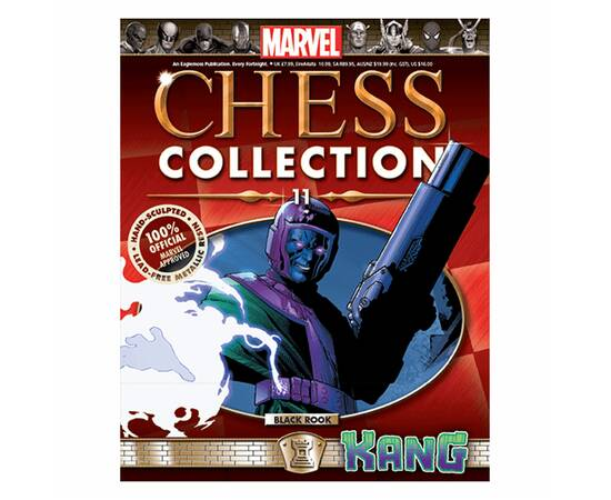 Marvel Chess Eaglemoss 11 KANG (BLACK ROOK)-