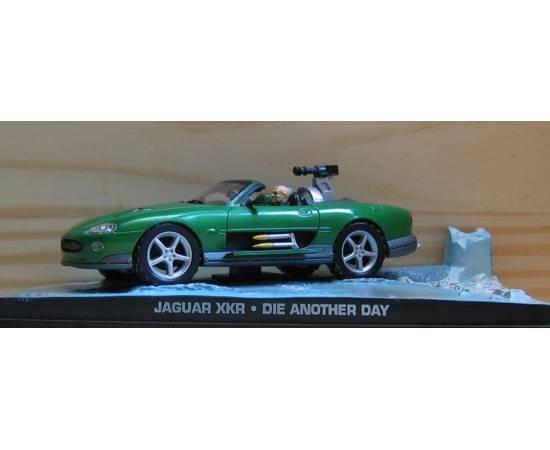 Voiture James Bond 07: JAGUAR XKR  Eaglemoss Collection Cars-