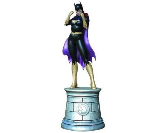 DC Chess Eaglemoss 07 Batgirl white knight-