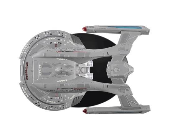 Eaglemoss Star Trek 012  U.S.S. THUNDERCHILD NCC-63549 Akira Class-