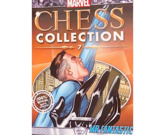 Marvel Chess Eaglemoss Special Mister Fantastic UK subscribers only-
