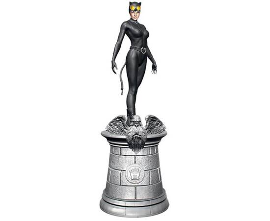 DC Chess Eaglemoss 05 Catwoman white queen-