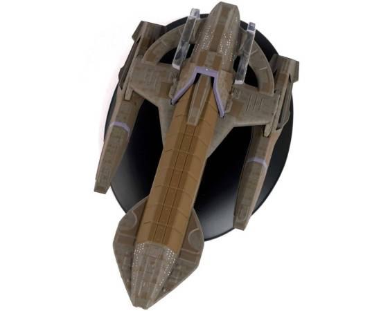 Eaglemoss Star Trek 165 Karemma Starship-