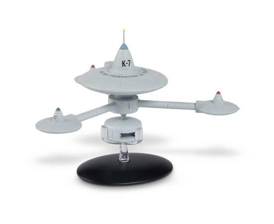 Eaglemoss Star Trek Special Edition 10 Deep Space Station K-7 Model Ship-