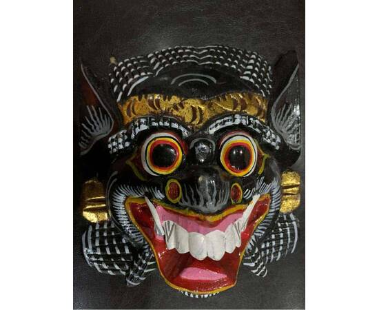 Bali mask for wall decoration-