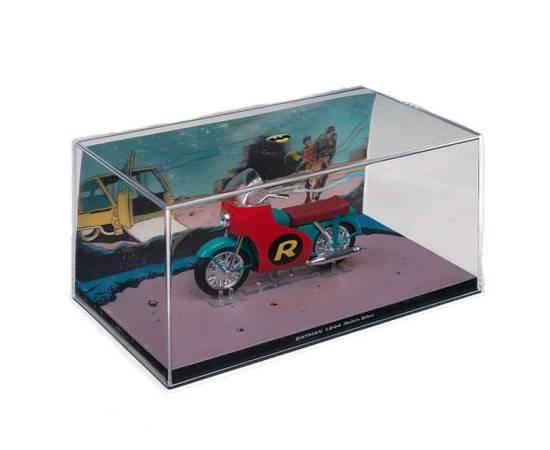 Batman Automobilia Eaglemoss 62 Batman #24 Robin Bike Model-