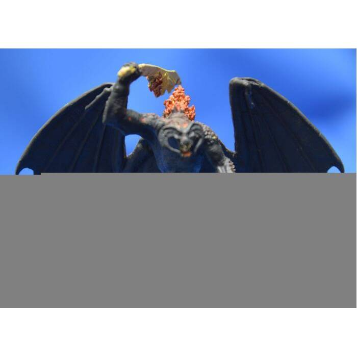 Figurine Collection Seigneur des Anneaux BALROG Lord of Rings EAGLEMOSS Figure